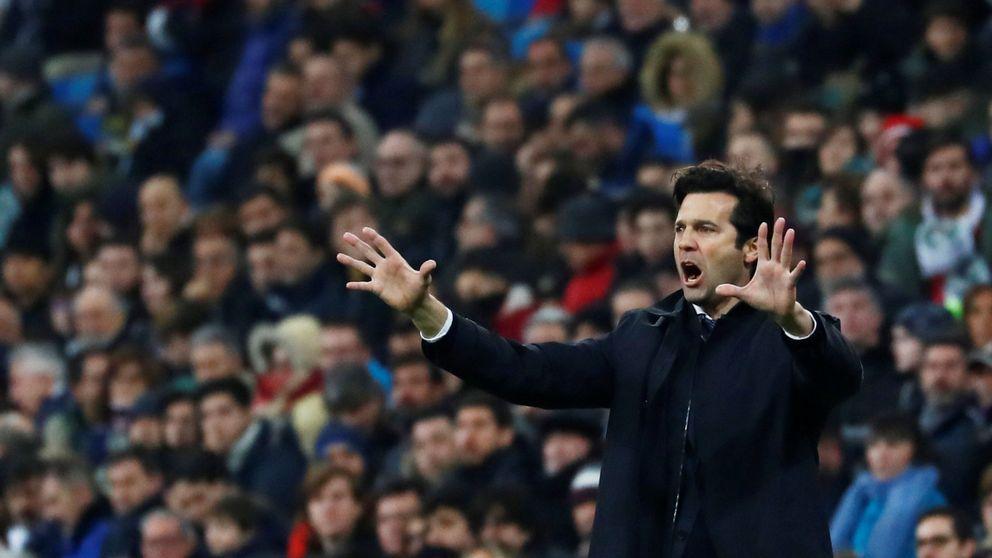 El Bernabéu abronca el miedo de Solari pero el técnico no quiere descifrar ese cabreo