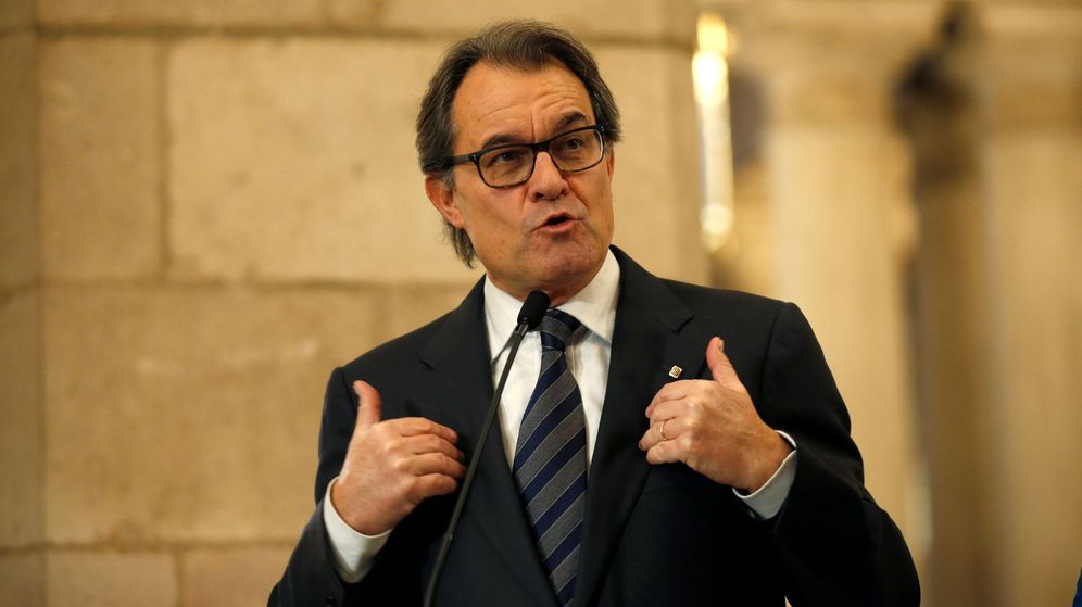 Foto: El expresidente de Cataluña Artur Mas. (Reuters)