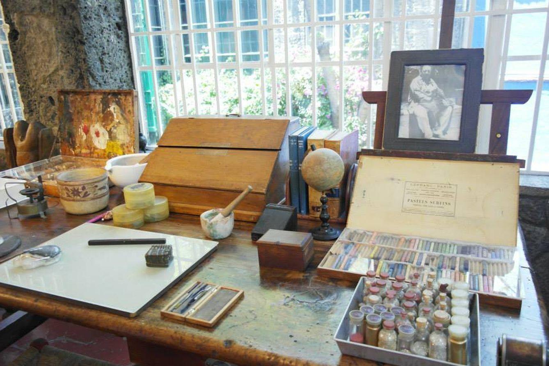 Foto: En la casa de Frida Kahlo, la Casa Azul, se pueden ver todas sus cosas (Foto: Visit México)