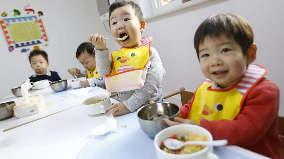 Foto: Una guardería china. (EFE)