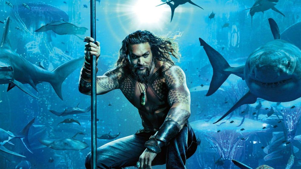 Foto: Jason Momoa es 'Aquaman'. (Warner)