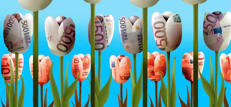 Foto: Los Países Bajos esconden algo más que tulipanes. Ilustración: Raúl Arias