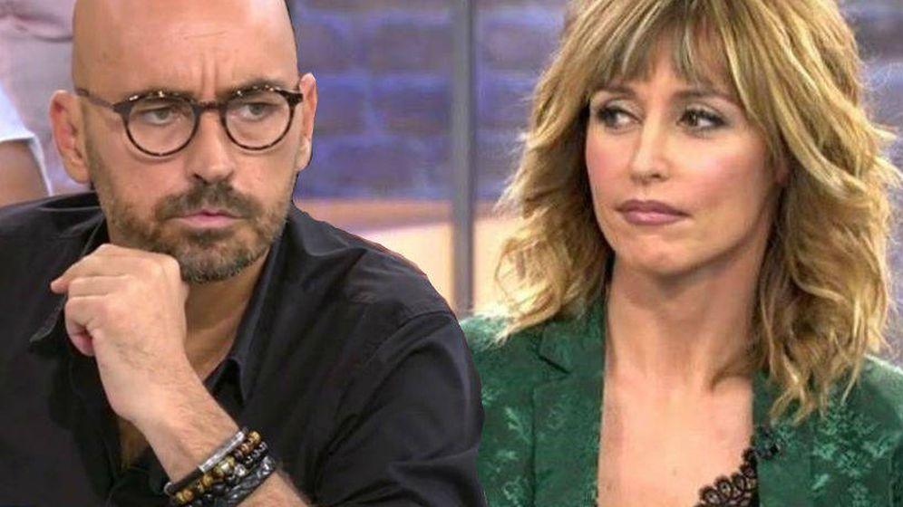 Foto: Diego Arrabal y Emma Garcia. (Telecinco).