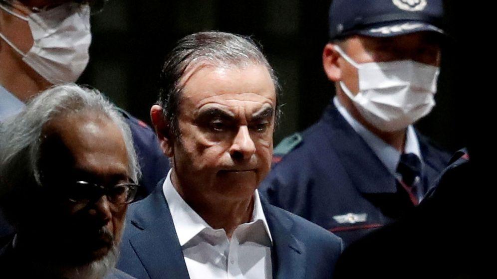 Foto: Carlos Ghosn, en Tokio. (Reuters)