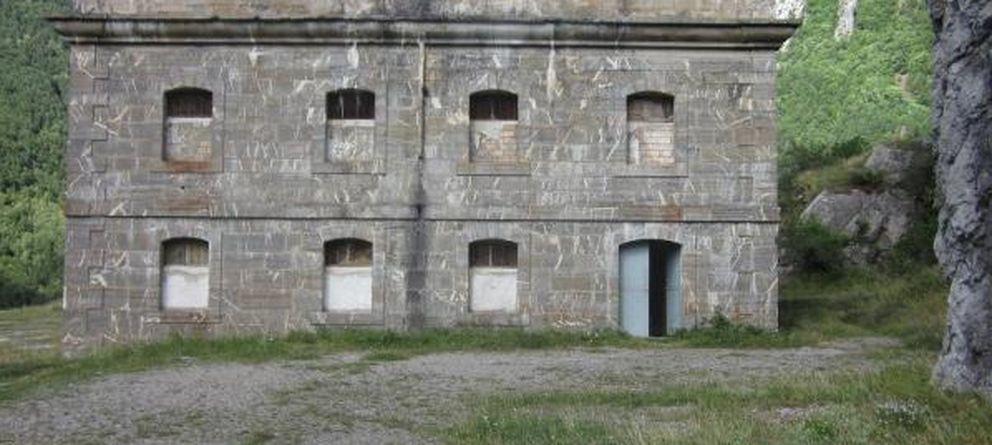 Foto: El Fuerte de Santa Elena (Huesca), vendido por 200.000 euros