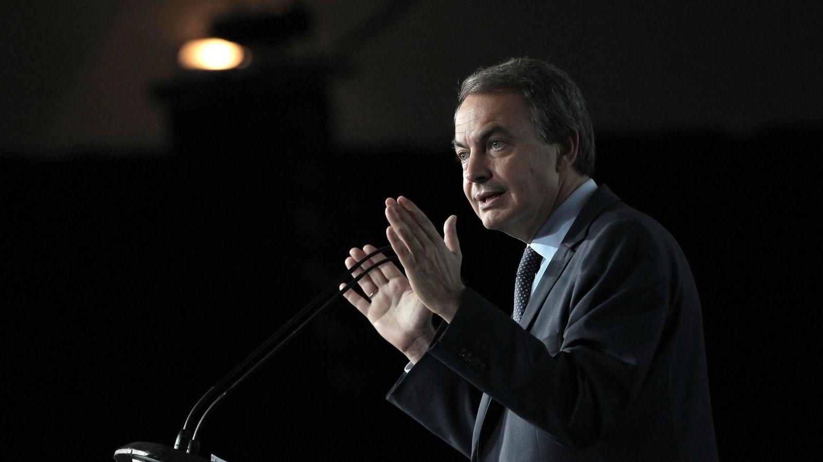 Foto: El expresidente español José Luis Rodríguez Zapatero. (EFE)