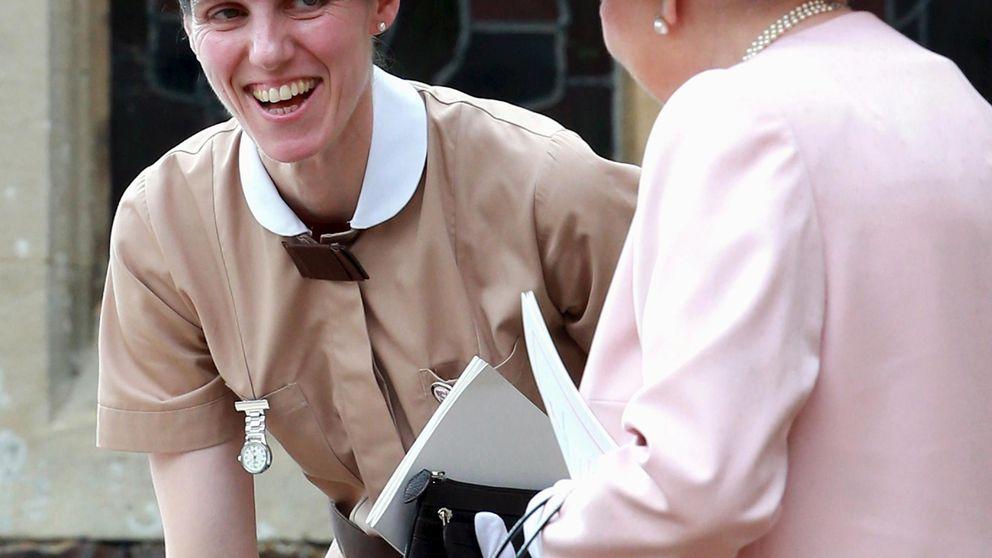 La reaparición de la niñera española de Kate Middleton: en el museo y con Louis