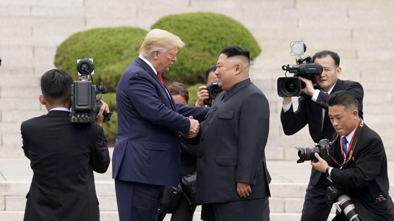 Kim Jong Un con Donald Trump (Reuters)