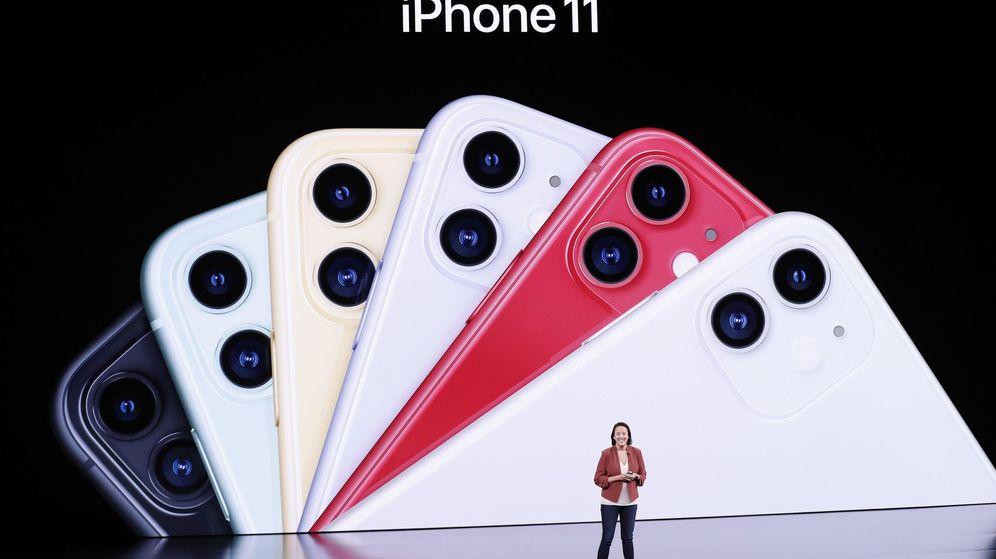 Foto: Presentación de Apple en Cupertino (Reuters)