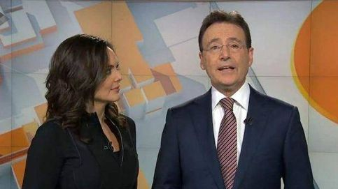 Matías Prats para 'Antena 3 Noticias' para arropar a Mónica Carrillo tras su cáncer