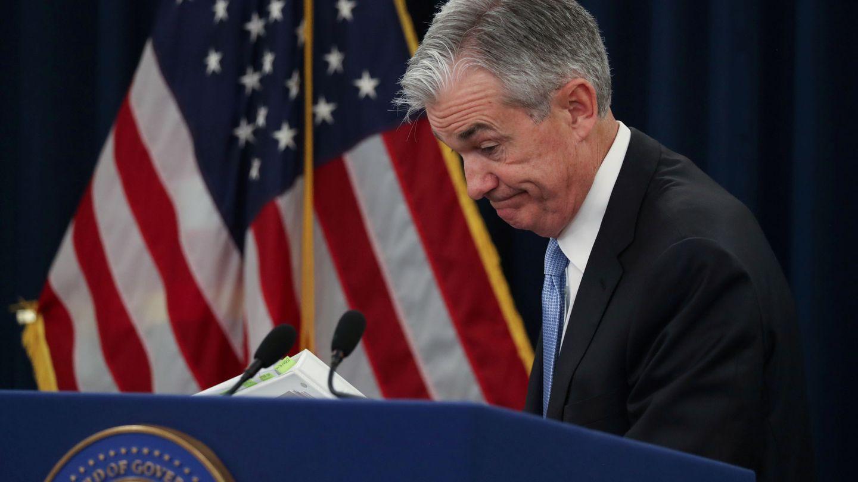 Jerome Powell, presidente de la Reserva Federal. (Reuters)