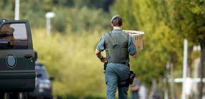 La Guardia Civil halla otro almacén de explosivos del 'comando Imanol'