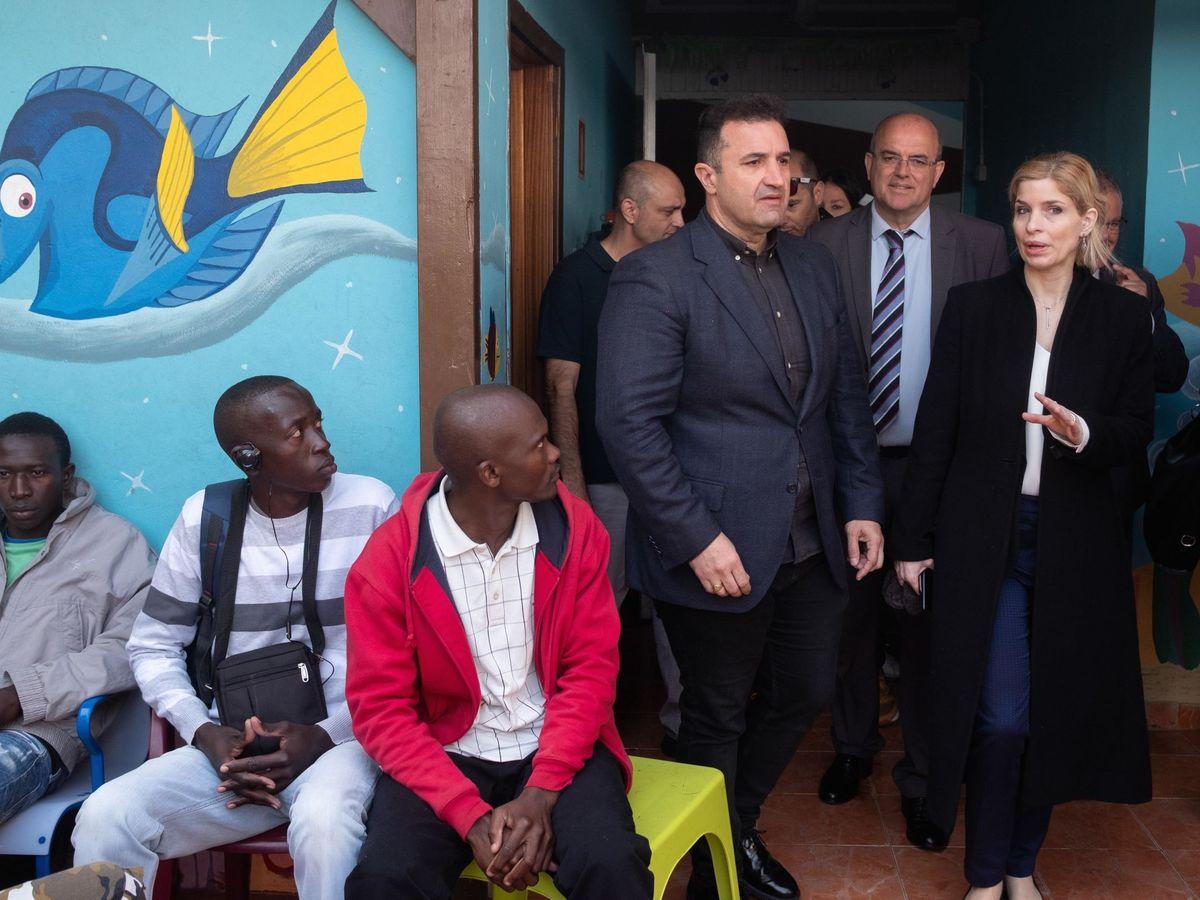 Foto: La secretaria de Estado para la Inmigración, Hana Jalloul. (EFE)