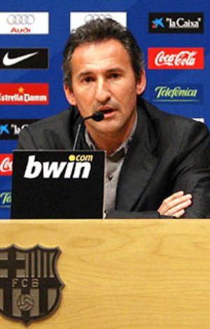 """El Barça afronta su """"primer gran objetivo"""" del curso, según Begiristain"""