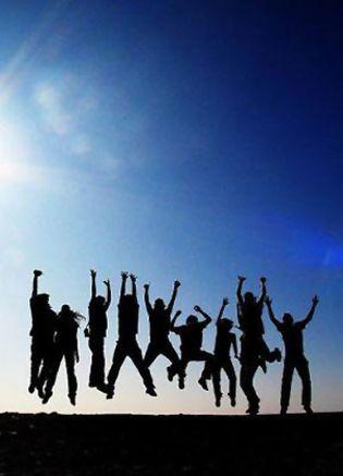 Foto: Lo dice la ciencia: la felicidad es contagiosa