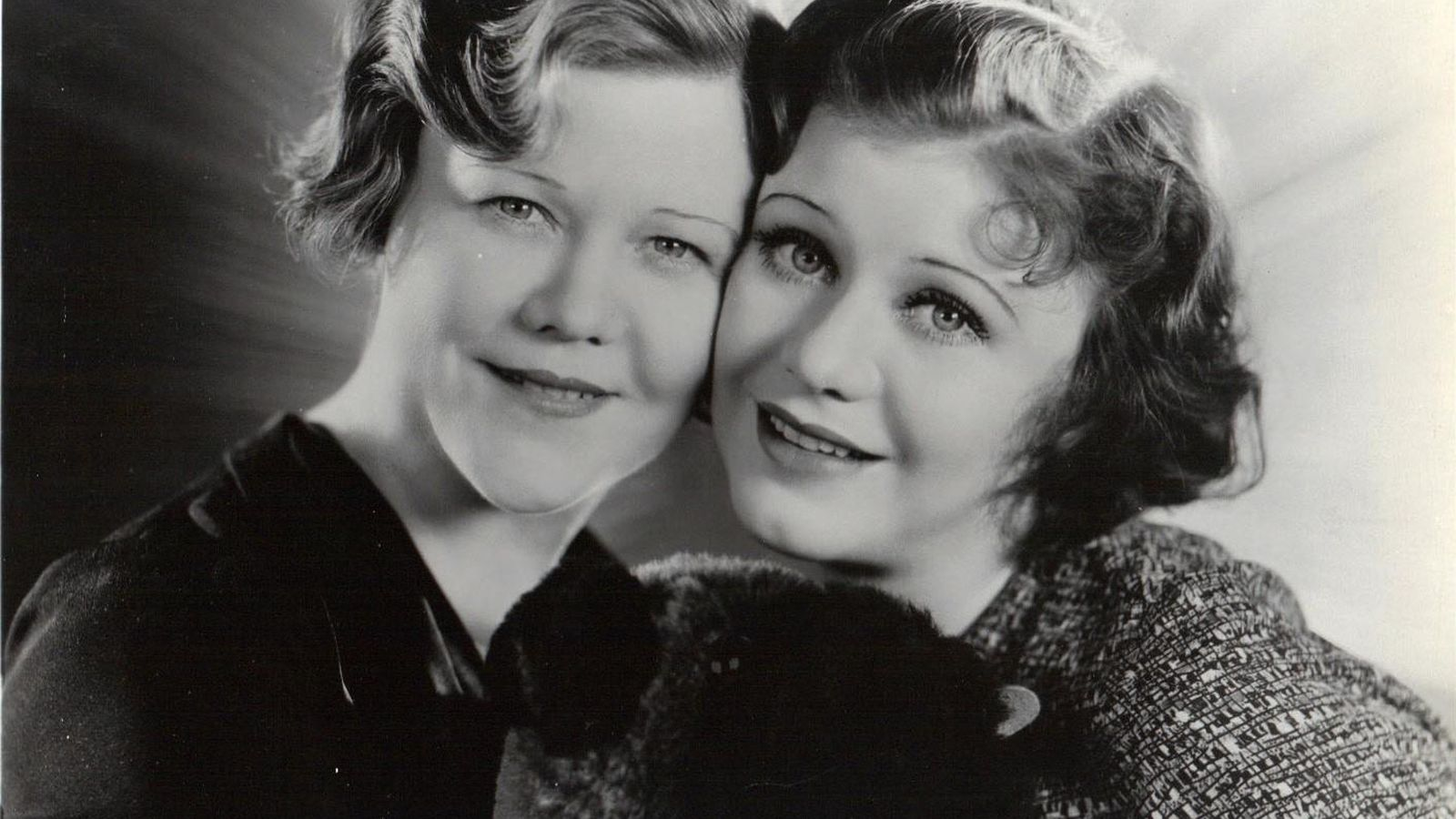 Foto: Lela y su hija al principio de su carrera.