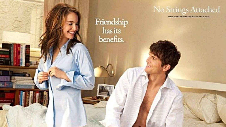 Natalie Portman y Ashton Kutcher en una imagen de la película