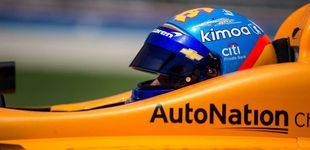 Post de La frustración de Fernando Alonso en Indianápolis: avería y el peor tiempo