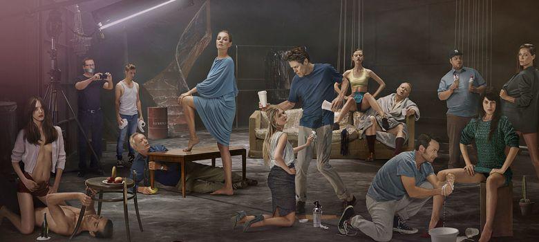 Foto: Imagen promocional del reparto de Nymphomaniac