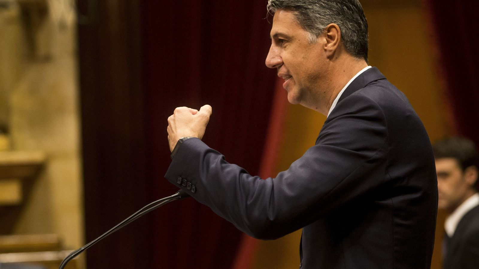 Foto: El lider del PPC, Xavier Garcia Albiol. (EFE)