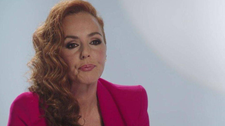 Rocío Carrasco, en una imagen de su serie documental. (Mediaset)