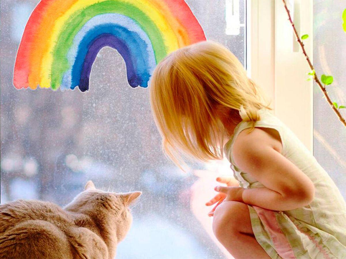 Foto: Arcoíris para decorar: una tendencia que llenará tu hogar de armonía y positividad (Amazon)