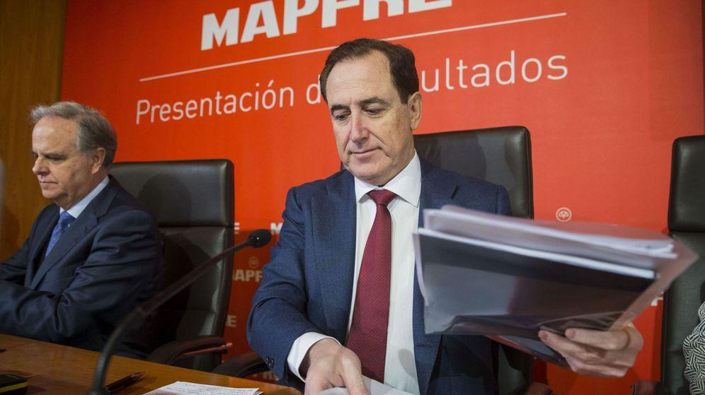 Foto: El presidente de mapfre, Antonio Huertas Mejías