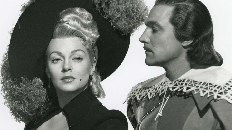 Lana Turner y Gene Kelly, en 'Los tres mosqueteros'. (EFE)