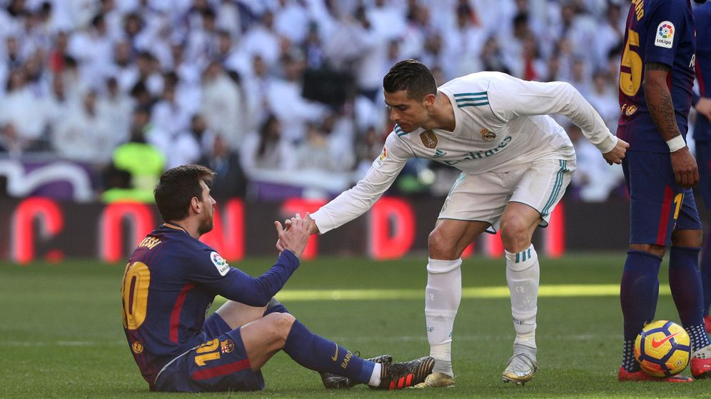 Foto: Messi y Cristiano, en el último clásico. (Reuters)