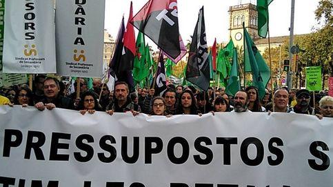 Arranca la marcha contra los recortes:  ERC y PDeCAT, la paciencia se acabó