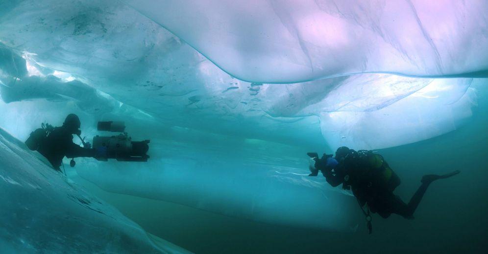 Foto: Los dos polos son los lugares más apasionantes para practicar el buceo bajo hielo (Cordon Press)