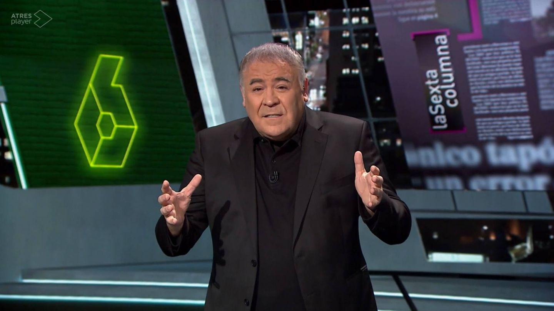 Antonio García Ferreras, en 'La Sexta Columna'. (Atresmedia Televisión)
