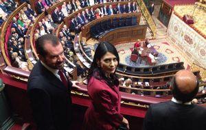 Ana Togores, la gran sorpresa en las tribunas del Congreso