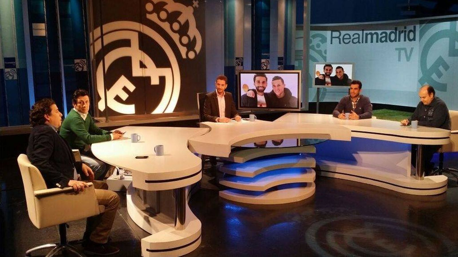 Foto:  Una tertulia de Real Madrid TV.