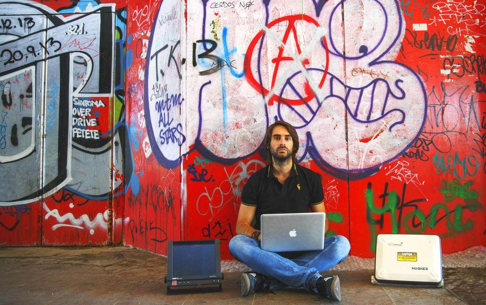 Foto: Rubén Santamarta, uno de los 'hackers' españoles más destacados. (Reuters)