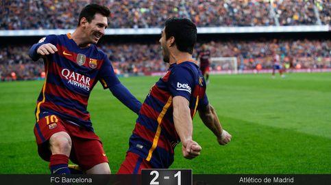 Dos autoexpulsiones de Filipe y Godín le ponen una alfombra roja al Barcelona