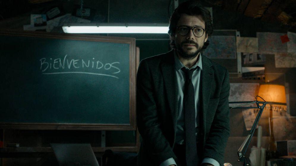 Foto: El profesor, cerebro detrás del atraco en 'La casa de papel'.