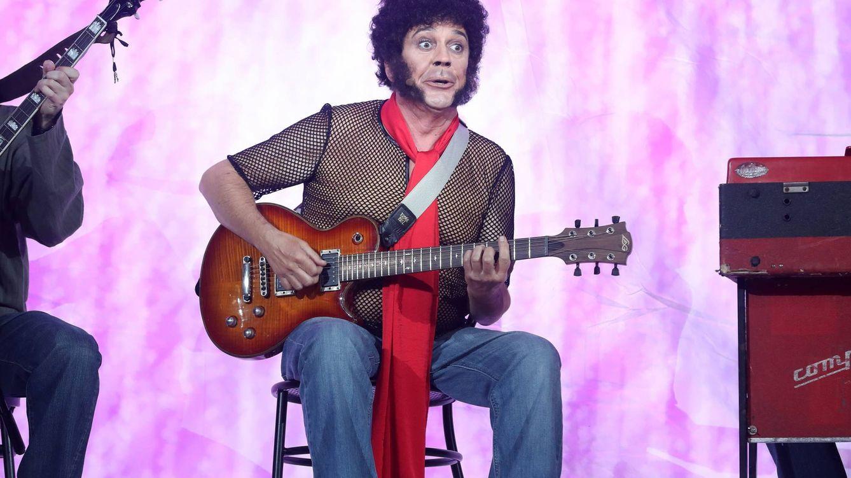 Foto: Juan Muñoz imitando a Mungo Jerry en la novena gala de 'TCMS' (Atresmedia)