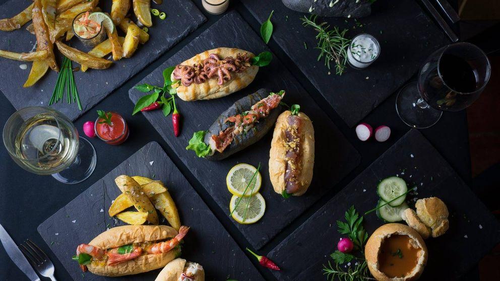 Brioche, mantequilla y marisco: el bocadillo de moda en Madrid
