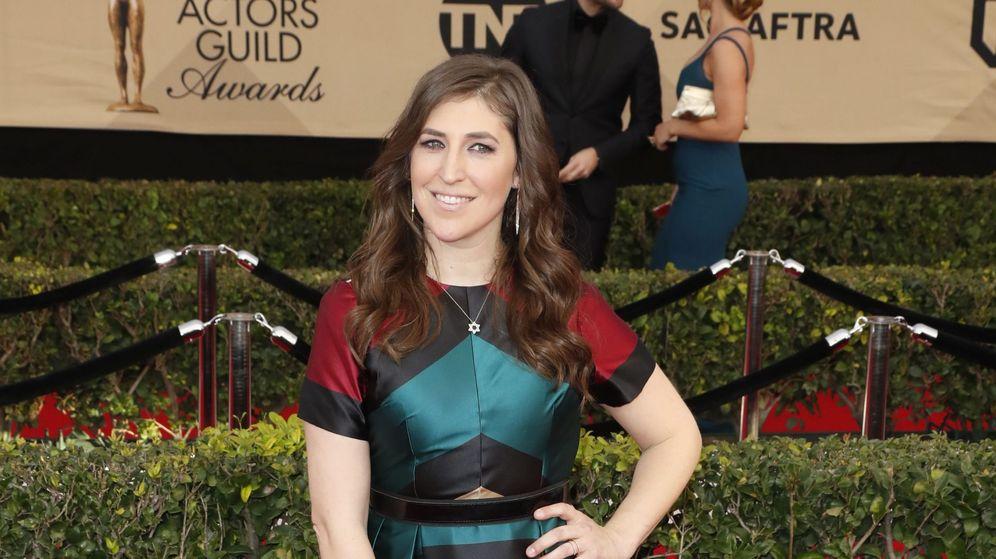 Foto: Mayim Bialik en los Screen Actors Guild Awards. (EFE)