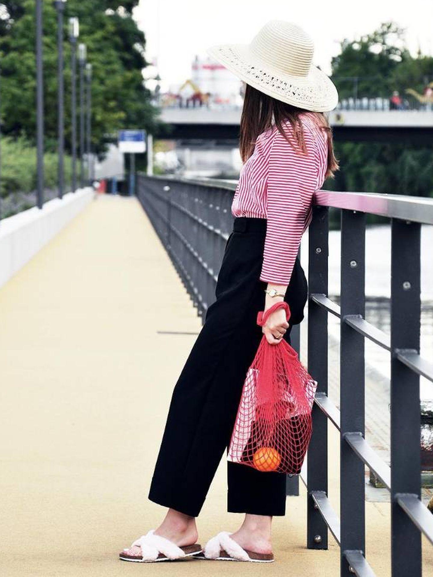 Del mercado a la calle con estilo; así es el nuevo 'it bag'. (Foto: Instagram/martiartiblog)