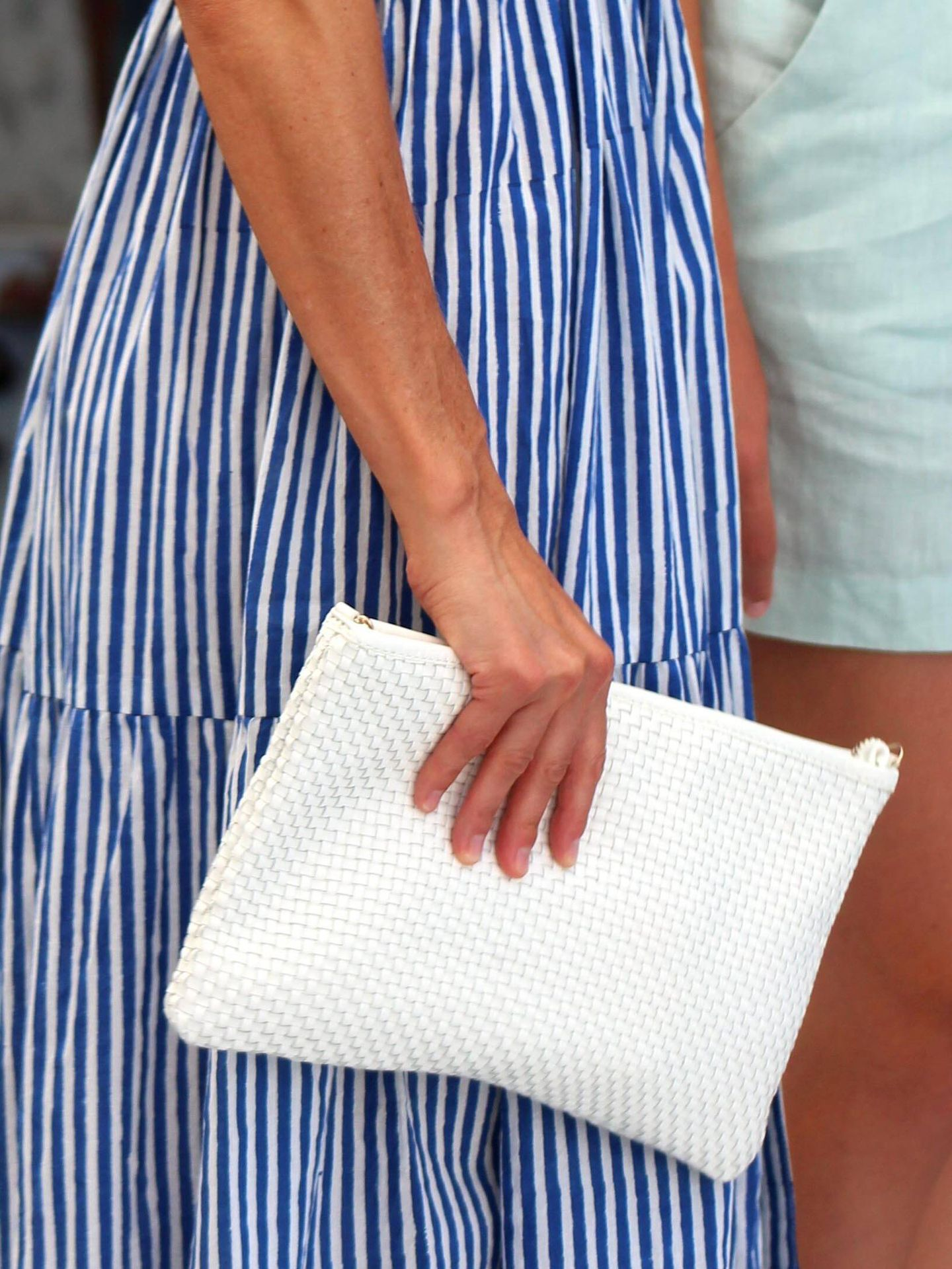 Detalle del bolso de la reina. (Imagen: Cordon Press)