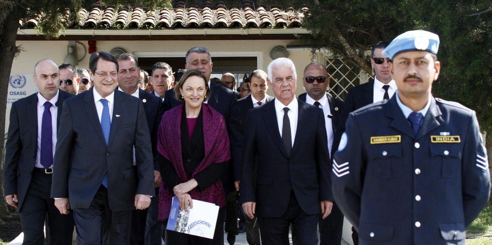 Los líderes de Chipre reabren las negociaciones para la reunificación (Efe).