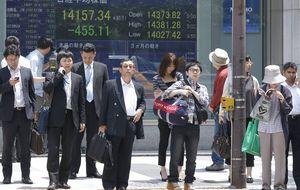 El Nikkei vuelve a perder posiciones por la subida del yen