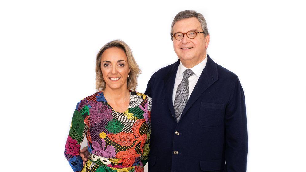 Foto: La doctora y empresaria Maria Cordón y su socio José Ramón Rubio