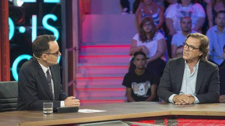 Pepe Navarro con Risto Mejide. (Mediaset España)
