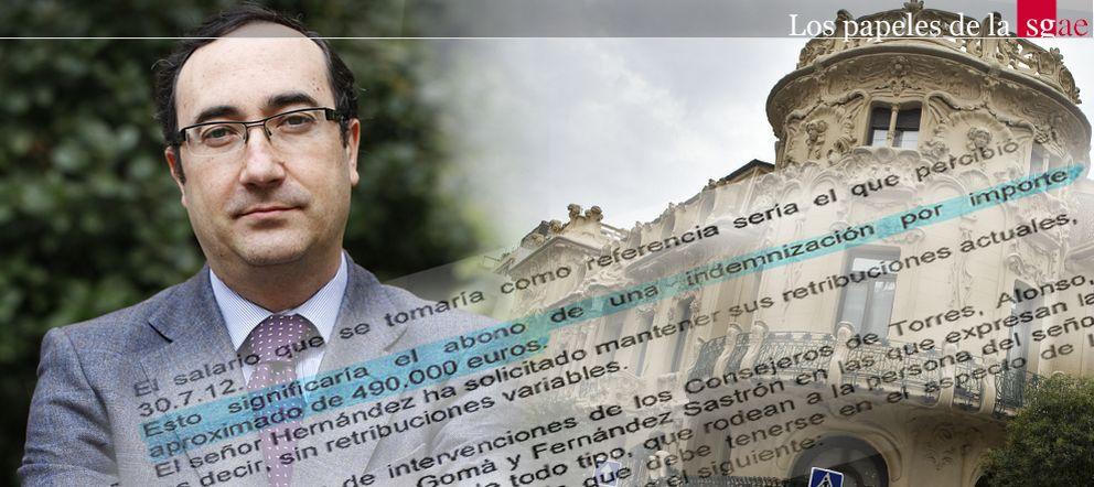 Foto: La SGAE indemniza a su 'número dos' con 500.000 € en 'diferido' para eludir al fisco