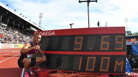 La impresionante marca, con viento, de De Grasse en los 100 metros: 9,69
