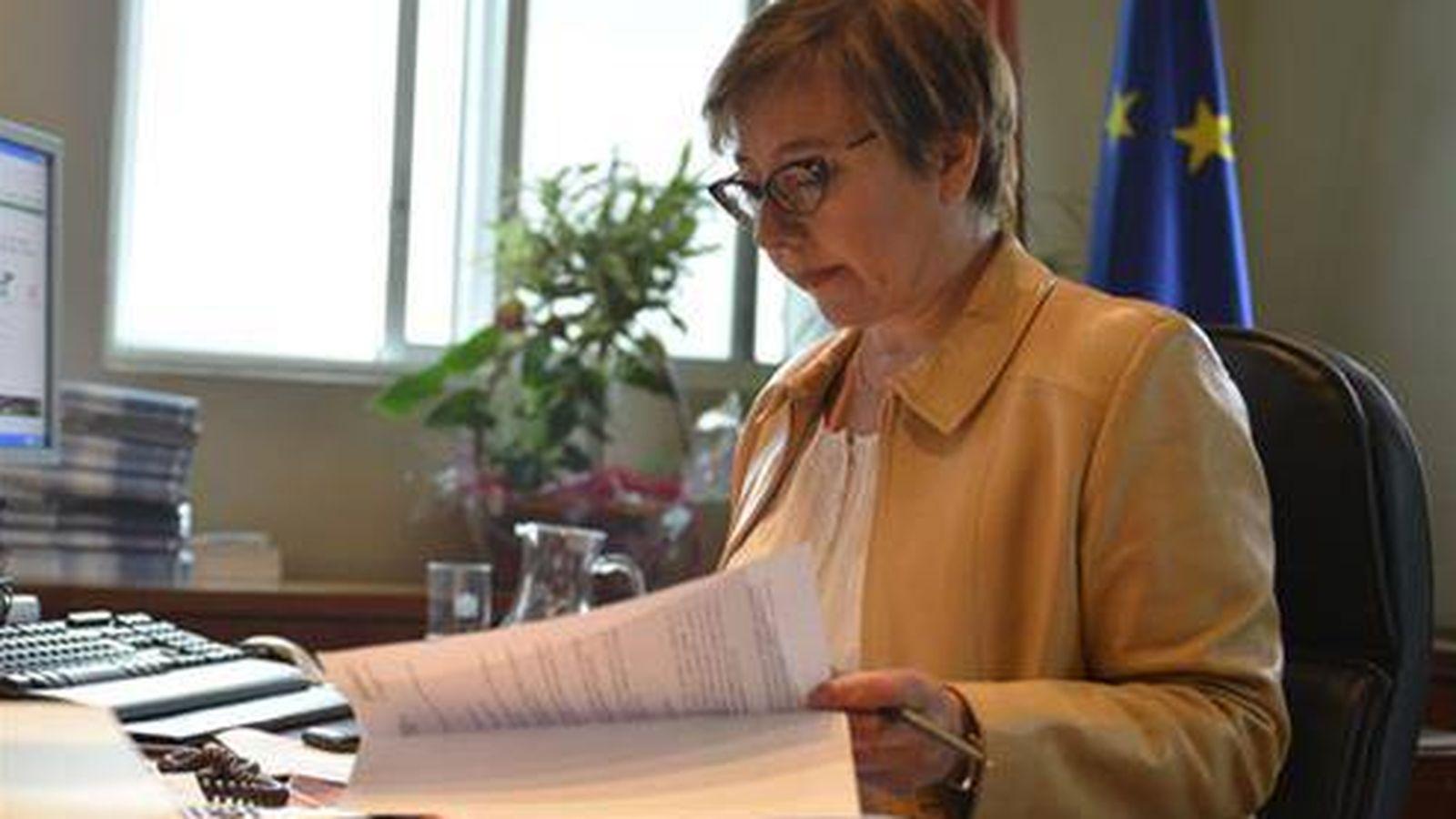 Foto: La secretaria de Estado de Comunicación, Carmen Martínez Castro. (Ministerio de la Presidencia)