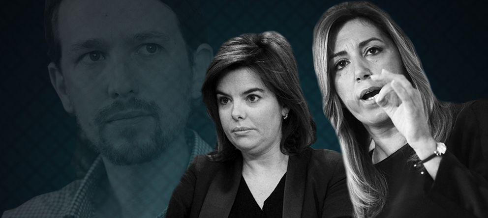 Soraya & Susana, la 'solución país' que propone el Ibex 35 para frenar a Podemos